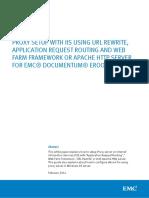 h12547 Proxy Setup Iis Url Rewrite Apache Http Dctm Eroom Wp