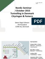 Cityringen - Femern ITA Nordic Seminar 29 Oct 2015_Short