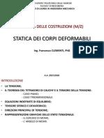 Unità 7 Statica Dei Corpi Deformabili m z