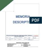 0.00 Memoria Descriptiva