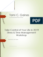 Stress and Time Management