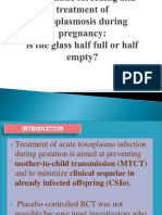 Systematic Screening and Treatment of Toxoplasmosis During Pregnancy