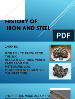 History of Iron and Steel