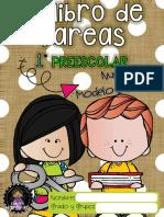 Cuaderno de tareas primero preescolar