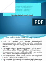 Industry Analysis of Telecom Sector1