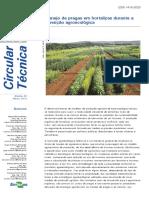 HORTALIÇAS-Manejo de Pragas Durante a Transição Agroecológica-CT.119-2013 Embrap