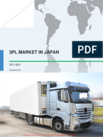 3PL Market in Japan 2017-2021