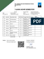Kartu Ujian Akhir Semester _ D1101181030