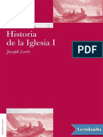 Historia de la Iglesia I Antiguedad y Edad Media - Joseph Lortz.pdf
