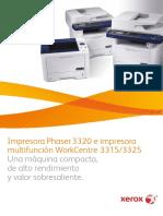 Brochure 3320,3315 y 3325