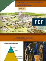 TRANSIÇÃO DO FEUDALISMO PARA O CAPITALISMO - A ESTRUTURA