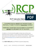 Rcp Instruction Manual With Glossary
