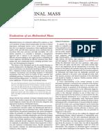 Assessment of Abdominal Mass