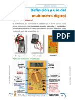 CircuitoElectronico - Multimetro