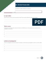 SP8035 Research Worksheet FFE