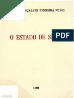 Manoel Gonçalves - O Estado de Sítio