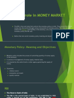 Role of RBI in Markets