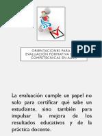 Orientaciones Para La Evaluación Formativa de Las Competecnicas