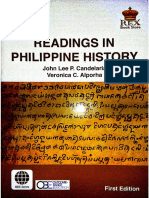 Readings in the Philippine History