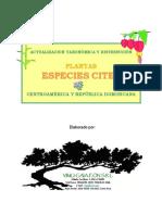 Actualizacion Taxonomica Cites