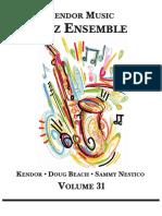 Kendor Volume 31 Jazz Booklet