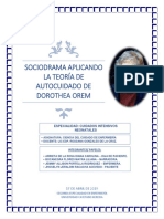 Teoria de Dorothea Orem -Sociodrama