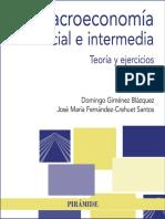 Macroeconomía Inicial e Intermedia (2018) Giménez Fernández Crehuet
