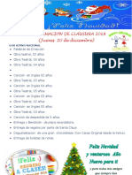 Programacion de Clausura 2015
