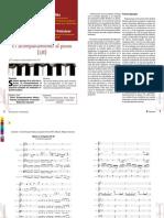 El acompañamiento al piano y Reduccion orquestal