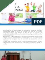 Desarrollo Auditivo en La Primera Infancia