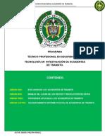 (Modulo) Investigacion de Accidentes de Transito