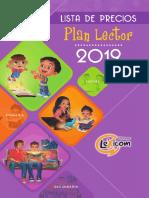 Lista Precios Plan Lector 2019