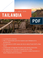 Informe Abril 2018 Tailandia