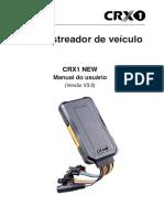 CRX1 NEW Manual Do Usuario 3 0