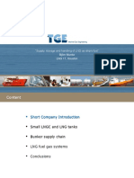 2013 TGE Supply, Storage and Handling of LNG as Ship's Fuel