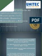 Construccion de Resultados Diagnóstico Recomendaciones y Referencias