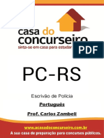 Apostila Pc Rs Escrivao Portugues Edital 2017 Carlos Zambeli