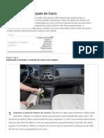Como Limpar o Carpete Do Carro_ 23 Passos (Com Imagens)