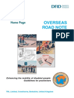ORN Road Note