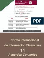 NIIF 11 Aacuerdos Conjuntos Tendencia