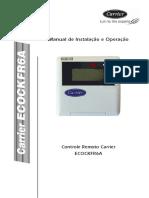 ECOSPLIT CARRIER - Manual de Instalação e Operação
