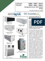 Ecosplit Carrier - Catálogo Técnico