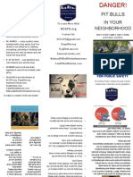 Brochure Trifold- Responsible Citizens for Public Safety (RC4PS )