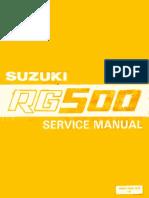 Suzuki RG500-Service Manual