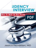 The Residency Interview How to Make the Best Possible Impression