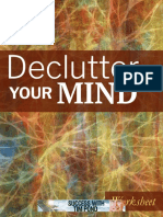Declutter Your Mind Worksheet
