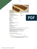 Bolo Maracujá Com Flan de Chocolate