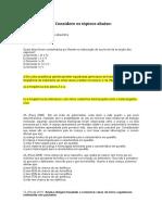 Questões Para a Prova Do 3º Ano - 2 Tri 2014-1
