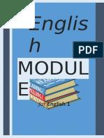 English MODULE for English 1 General Eng