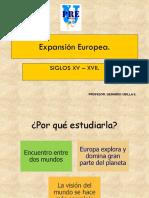 Clase Expansic3b3n Europea